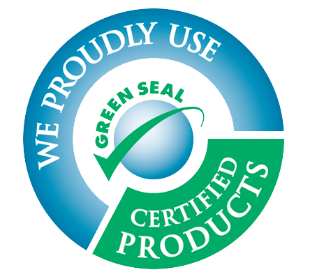 We Use Green Seal Certified Products - Carpet Cleaning San Antonio